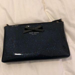 Kate Spade Shoulder Bag or Clutch, Sparkly Blue